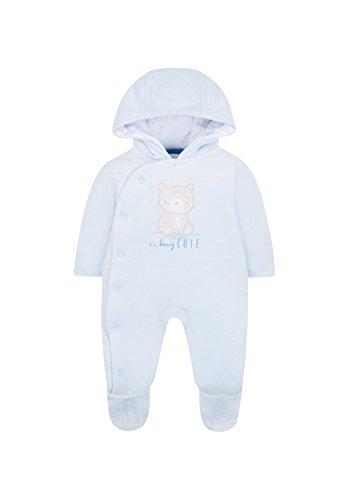 Mothercare My First, Traje para la Nieve para Bebés, Azul (Pale Blue 23), prematuro (tamaño fabricante:2.3 Kg)