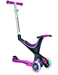 Globber My Free Seat - Patinete, color rosa