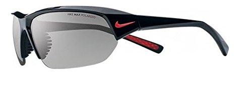 Nike Skylon Ace P Sunglasses, Shiny Black/Matte Black, Grey Max Polarized Lens image