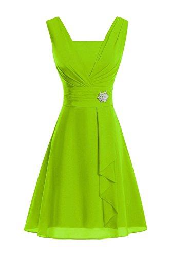 Secret Castle-Robe-Femme Vert citron