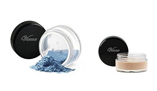 Veana Sombra de Ojos Minerales Línea plus Primer Ojo diamante azul, 1er Pack (1 x 10 g)