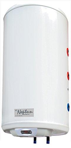 100 Liter Kombi-Boiler, Warmwasserboiler mit 1 Wärmetauscher inkl. LED-Anzeige (Led 100l)
