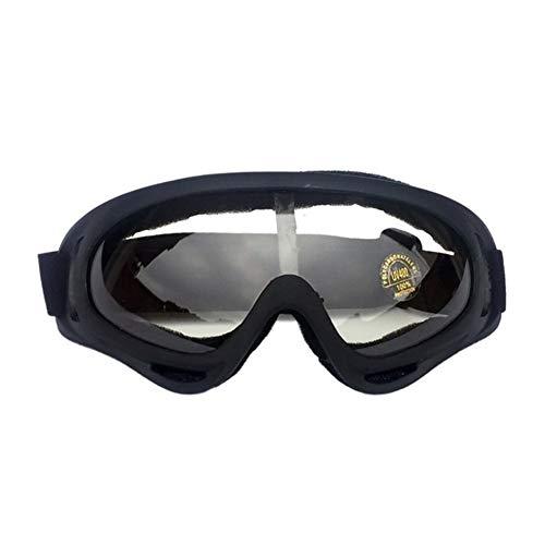 FELICIOO Skibrillen Snowboardbrillen UV-Schutz Anti-Fog-Ski-Maske Brille for Männer Frauen Jugendliche (Farbe : 4)