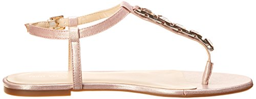 Nine West Shipout Cuir Tongs pink