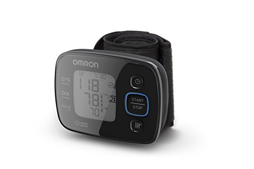 OMRON MIT Precision 5 Misuratore di Pressione da Polso, Design Compatto, Sensore di Corretto Posizionamento
