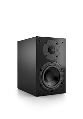 Nubert nuBox 313 Regallautsprecher | Lautsprecher für Stereo & Musikgenuss | Heimkino & HiFi Qualität auf hohem Niveau | Passive Regalbox mit 2 Wege Technik | Kompaktlautsprecher Schwarz | 1 Stück