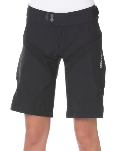 CRAFT 1900672 Performance Bike Loose Fit Shorts, 9999 black, 40 = L (Bike Short Loose Fit)