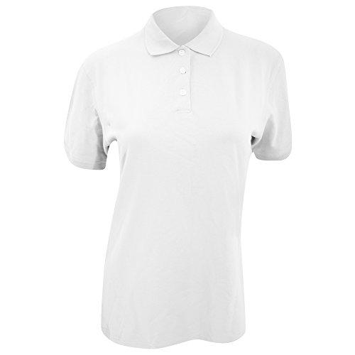 Polo à manches courtes Kustom Kit Kate Comfortec® pour femme Blanc
