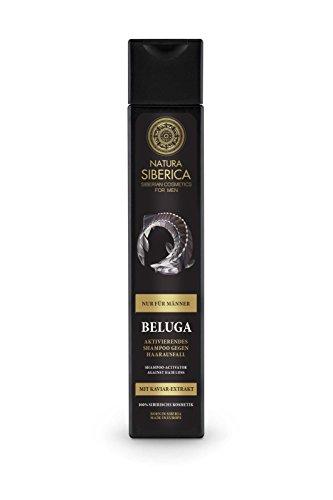 Natura siberica beluga attivazione shampoo contro la perdita di capelli, confezione da (2x 250ml)