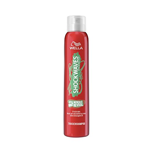 Wella Shockwaves Style Refresh & Root Revival Trockenshampoo, 6er Pack (6 x 180 ml)
