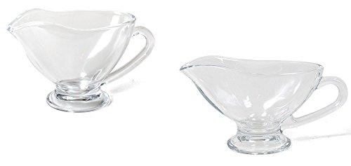 Badewanne Bettwäsche-schrank (Sauciere mit Henkel und Ausguss aus Glas verschiedene Größen 300ml (19x9x10cm))