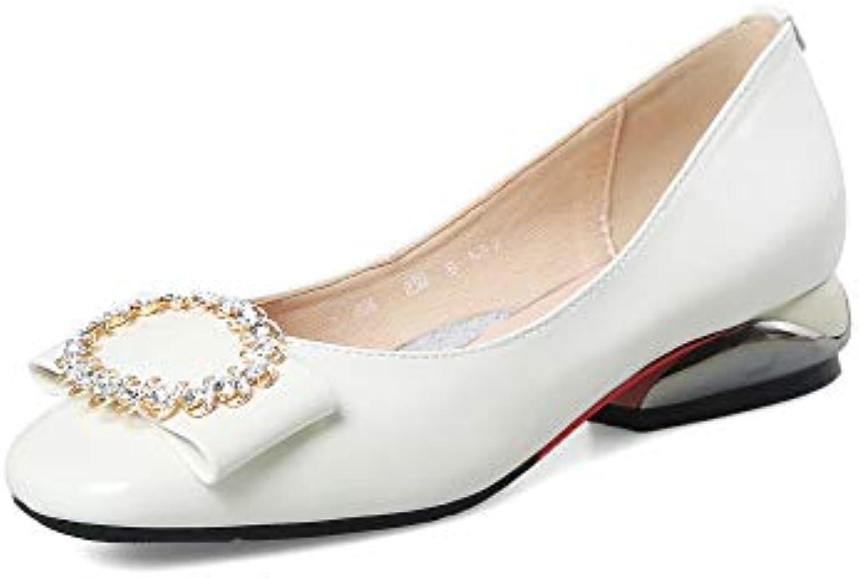 AdeeSu SDC06264,  Blanc, s Compensées Femme - Blanc - Blanc,  36.5B07HRVFVCVParent 87ad99