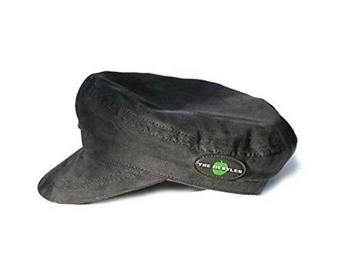 Générique The Beatles Moleskin Hat Noir Retro Help Apple Band Logo Design Officiel