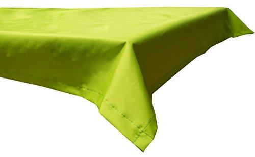 Beo Outdoor-Tischdecken wasserabweisende, eckig, 130 x 180 cm, hellgrün
