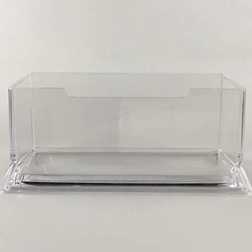 ZZbaixinglongan - Tarjetero plástico transparente