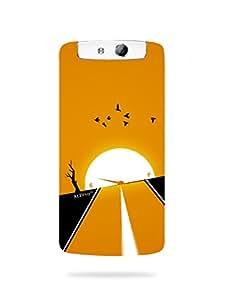 alDivo Premium Quality Printed Mobile Back Cover For Oppo N1 mini / Oppo N1 mini Back Case Cover (MKD132)