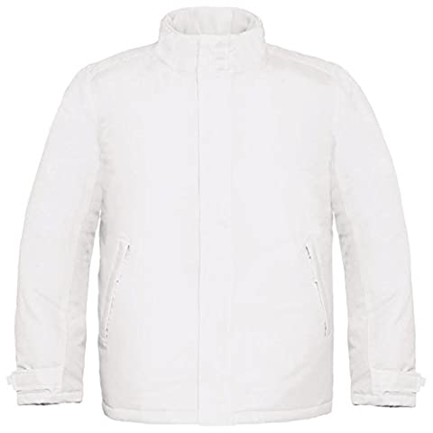 B&C Collection - Blouson - Moderne - Homme - blanc - Large
