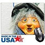 MSD Naturkautschuk Maus Pad/Matte mit genähte Kanten 9,8x 7,9Miniatur Hexe Puppe Aufhängen auf der Wand Bild 28409462 (Cute Mouse Kostüm)