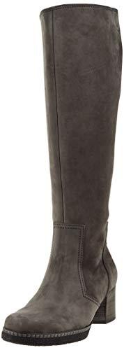 Gabor Shoes Damen Comfort Basic Hohe Stiefel, Grau (Dkgrey(S.S/A.F/Mi) 31), 39 EU Basic Stiefel