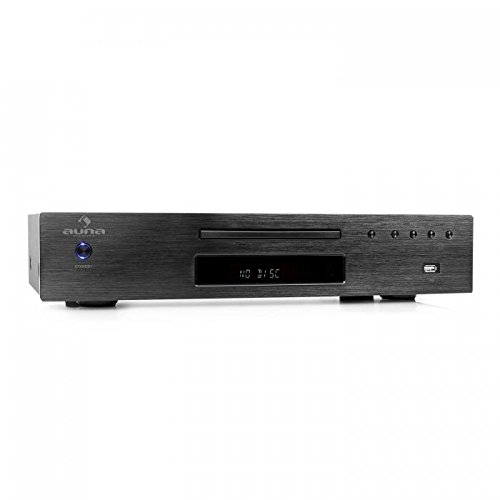 Auna AV2-CD509 Black Edition - Reproductor CD Alta