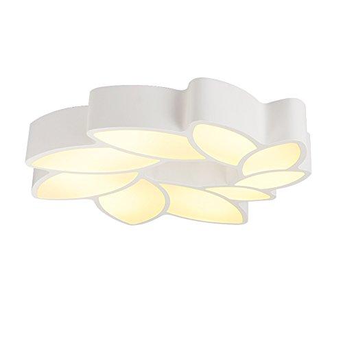 LIGHT®/Modern/Einfach/LED/Deckenleuchte/Deckenlampe/Deckenbeleuchtung/Kreative/Persönlichkeit/Innenbeleuchtung/Wohnzimmer/Schlafzimmer/Küche/Dekorative/Beleuchtung/Weiß/Metall/Blumen/Lampe (Blumen Led-zeichen)