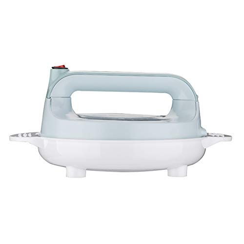 Elektrische Crepe Maker Crêpes Backform Chinesische Frühlingsrolle Braten Maschine Pfannkuchen Griddle Antihaft-kuchen Herdplatte 16 cm 600 W (Crepes-Backplatten),Blue