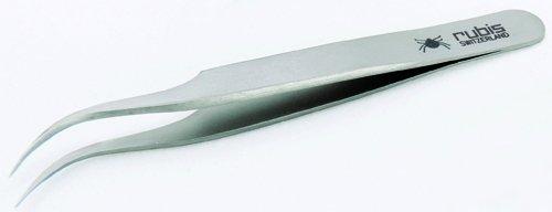 Rubis Zeckenpinzette Tick Edelstahl rostfrei 8 cm. Zecken leicht und sicher entfernen.