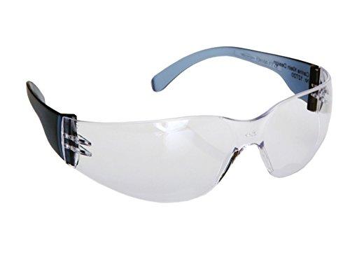 Schutzbrille Puma street-light – Brille mit Polycarbonat Gläsern – leichte Arbeitsschutz-Brille ohne Rahmen mit sicherem und bequemen Sitz