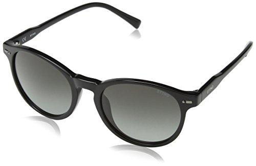 Sting ss6583 occhiali da sole unisex-adulto, grigio (shiny black) etichettalia unica