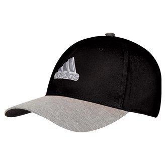 Adidas Golf 2015Collegiate Heather Casquette de golf/Hat–Taille unique multicolore Noir/Gris