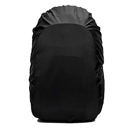 31yMLzLqtkL. SS500  - Frelaxy Waterproof Backpack Rain Cover, 15-90L Rucksack Bag Cover with Upgraded Non-Slip Cross Buckle Strap & Rainproof Storage Pouch & Silver PU Coating, Perfect for Outdoor Activities