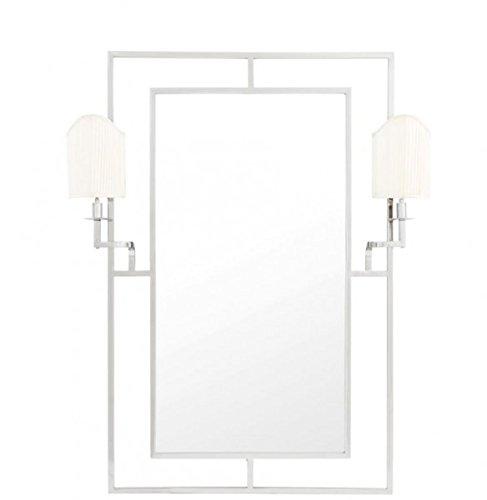 Casa-Padrino-Luxury-Designer-Wall-Mirror-Nickel-113-x-H-140-cm-Luxury-Hotel-Mirror