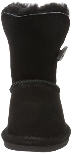 Bearpaw ABIGAIL TODDLER, Bottes mi-hauteur avec doublure chaude fille Schwarz (BLACK II  011)