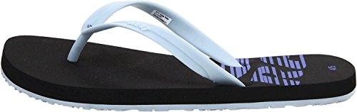Reef grom pulse light blue sandales pour femme noir Black Light Blue