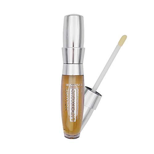 Xiton Lippenstift Lip Plumper 1 Stück All Natural Lip Plumper Lip Serum langlebiges Moisturizer Sexy 3D Lip Plumper Extreme Gloss Lip Booster Enhancer für Mädchen Frauen -