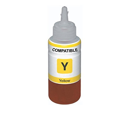 AB Compatible EPSON Yellow T6644 Refill Ink for L100, L110, L130, L200, L210, L220, L300, L310, L350, L355, L360, L365, L455, L550, L555, L565, L1300  available at amazon for Rs.265