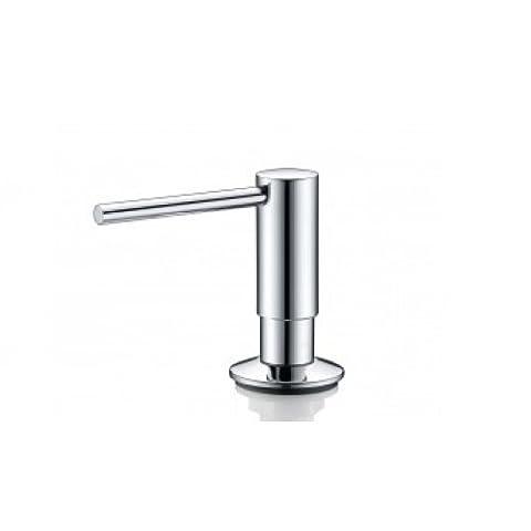 Soap Dispenser Chrome Mizzo Govaro | 5 Year Warranty | Washing Up Liquid Soap Dispenser Soap Dispenser Kitchen sink Accessories | Dispenser 300 ml |