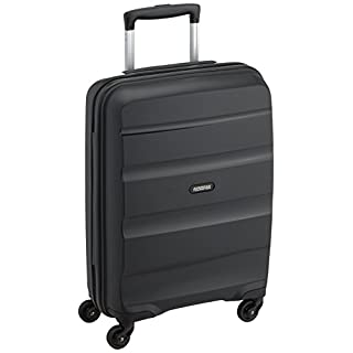 American Tourister Bon Air - Spinner 55 cm, 31.5 liters, Cabin Luggage, Black