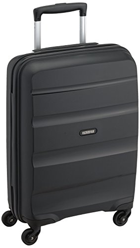 American Tourister Bon Air Spinner Hand Luggage, 55 cm, 32 L, Schwarz