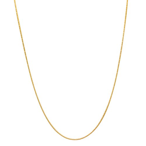 14k-yellow-gold-plated-thin-15mm-diamond-cut-rounded-snake-link-chain-40-cm