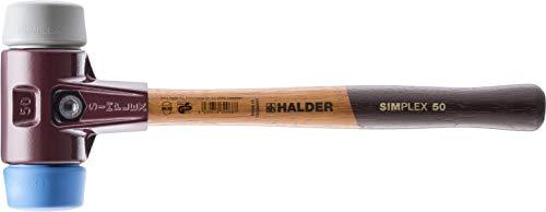 SIMPLEX-Schonhämmer, mit Stahlgussgehäuse und hochwertigen Holzstiel | Ø=40 mm | 3013.040