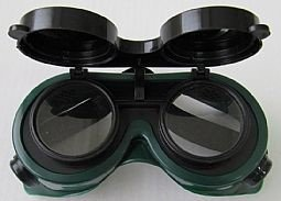 Gafas Seguridad Laboral Soldar Lentes abatibles Cinta