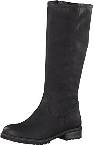 Tamaris Damenschuhe 1-1-26690-29 Damen Stiefel, Boots, Damen Stiefeletten, Herbstschuhe & Winterschuhe für modebewusste Frau schwarz (BLACK), EU 39