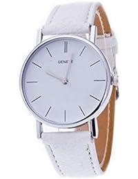c861417de4f8 Ginebra Diamante Relojes Caliente Venta Reloj Resistente al Agua Mode  Mujeres Retro Diseño Piel de Banda