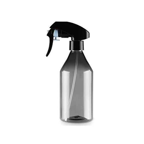 UxradG Friseur-Sprühflasche, Kunststoff, 300 ml, Kleine Größe, für Pflanzen, Blumen, Wassersprüher für Salonpflanzen, Tragbare Haar-Styling-Werkzeuge, 17 x 20 cm, Schwarz, Free Size