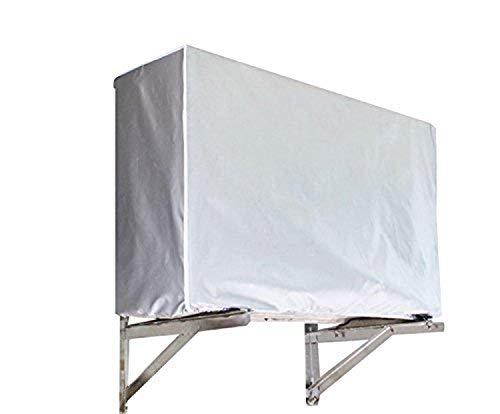 FORUSKY - Cubierta para Aire Acondicionado para Ventana de Aire Libre, Impermeable, antinieve, Resistente al Polvo