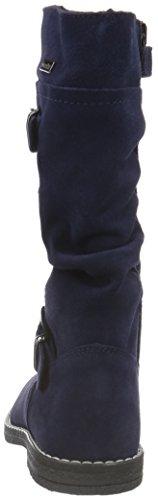 Richter Kinderschuhe Cloe, Bottes et bottines à doublure chaude fille Bleu - Blau (atlantic 7200)