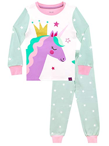Harry Bear Pijamas para niñas Unicornio Ajuste Ceñido Multicolor 2-3 Años