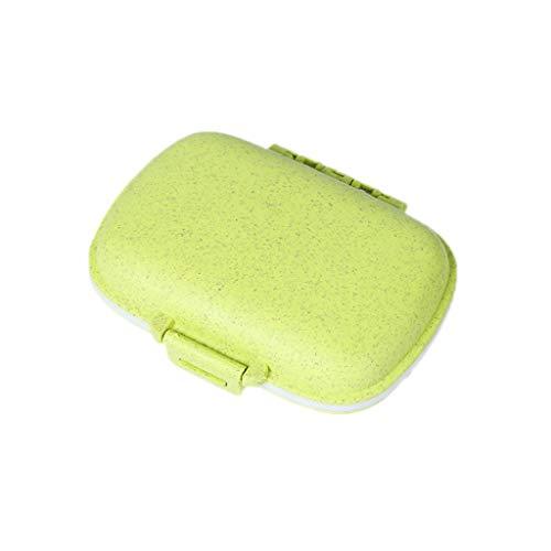 Fahou 8 Fächer Pillendose Medizin Tablet Organizer Container Vitamin Drug Holder Tragetasche Schmuck Aufbewahrung Portable Travel - Pill Box Drug