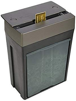 Royal St80X 8-Sheet Crosscut Paper Shredder With Pullout Basket